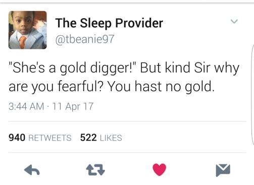Top Tweet of 2017 honestly