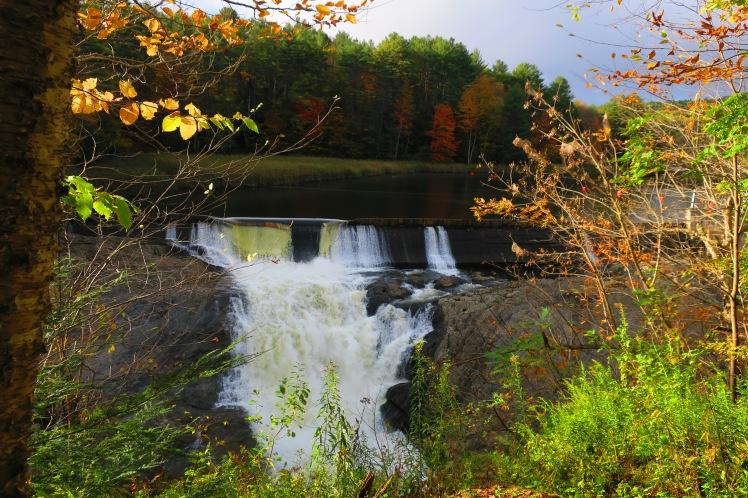 vermont waterfall gorge
